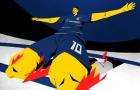 Hazard tiếp bước Henry và Eric Cantona