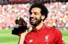 Salah: 'Chúc mừng Man City, Liverpool sẽ trở lại mùa tới'
