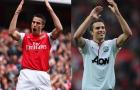 Đây! Chiếc áo Man United-Arsenal 'độc nhất vô nhị' của Van Persie