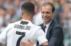 Cristiano Ronaldo nói lời cảm động trong ngày chia tay Max Allegri