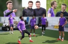 Học trò cưng của Sir Alex đột kích sân tập Tottenham