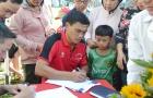 Nhà vô địch AFF Cup 2008 mở lớp bóng đá cộng đồng tại Long An