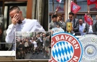 Ribery rơi nước mắt trong đại tiệc của Bayern Munich
