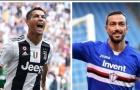 SỐC! Ronaldo và Quagliarella bị OPTA loại khỏi đội hình tiêu biểu