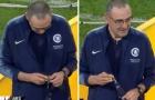 HLV Sarri khiến CĐV Chelsea rơi nước mắt chỉ vì 1 hành động sau chung kết Europa League