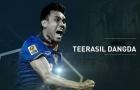 Điểm nhấn sức mạnh ĐT Thái Lan: 'Trọng pháo' Teerasil Dangda