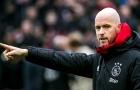 Gõ cửa Ajax vì Erik ten Hag, AS Roma nhận cái kết phũ phàng