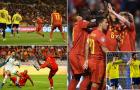 Lukaku bùng nổ,  Bỉ giành chiến thắng đậm trước Scotland