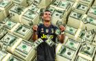 Ronaldo bị vượt mặt trong Top 10 VĐV thu nhập cao nhất thế giới