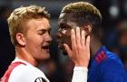 Khó tin! 'Bom tấn' Pogba chưa nổ tại Man Utd là vì ... rào cản De Ligt