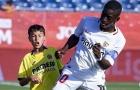 CHOÁNG! 12 tuổi cao 1m75, 'quái vật' Sevilla khiến đối thủ khóc thét