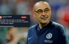 Rời Chelsea sau 1 mùa, Sarri vẫn trở thành huyền thoại Premier League