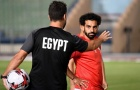 'Messi Ai Cập' xỏ giày luyện tập, các 'Pharaoh' sẵn sàng chinh phục CAN Cup