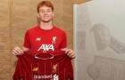 CHÍNH THỨC: Liverpool có tân binh đầu tiên, tài năng trẻ 17 tuổi