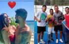 Bỏ bóng đá, Insigne cùng đồng đội chuyển sang chơi quần vợt