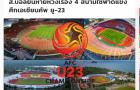 Báo Thái Lan: Nguy to, chúng ta có thể mất quyền đăng cai VCK U23 châu Á 2020