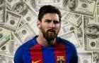 Vượt cả Ronaldo lẫn Neymar, 'máy in tiền' Messi vẫn phải xếp sau 2 nữ nhân