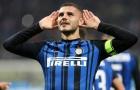 """XONG! """"Sếp lớn"""" Napoli đã có câu trả lời cho Inter Milan về Icardi"""
