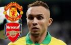 Zaha quá đắt, Arsenal sang Brazil 'cướp hàng' của Man Utd