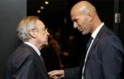 Vì tương lai một cầu thủ, Perez 'nổi trận lôi đình' với Zidane