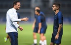 Lampard đích thân giáo huấn ''kẻ thay thế Hazard' trên sân tập Chelsea
