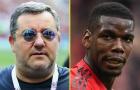 NÓNG! Raiola lại thả 'quả bom thối' cho Man Utd, biến căng vụ Pogba