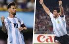 'Cậu ta chỉ là một con người, so sánh với Maradona thực sự kinh khủng'