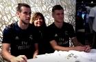 Video dàn sao Real Madrid giao lưu với CĐV tại New York