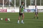 Video Cuadrado và Bentancur trở lại tập luyện cùng Juventus