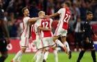 Địa chấn! Ajax hút chết, Champions League vắng bóng 2 'gã khổng lồ'