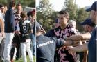 Ronaldo 'cầu cứu' lực lượng an ninh trước sự quá khích của CĐV