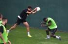 Cầu thủ Inter Milan tập bài 'lạ lùng' trước ngày khai màn Serie A