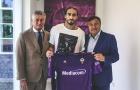 CHÍNH THỨC: Cựu sao Juventus gia nhập Fiorentina