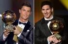 Messi và Ronaldo từng 'cướp' QBV của nhiều người, nhưng đã từng 'cướp' của nhau?