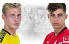Bundesliga 'long trời lở đất' khi 2 sao triển vọng bậc nhất nước Đức đối đầu