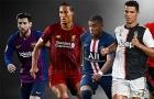 ESPN bầu chọn đội hình 11 ngôi sao xuất sắc nhất bóng đá thế giới