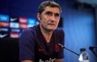 'Nỗi thất vọng' tiếp tục dội 'gáo nước lạnh' vào Barca và HLV Valverde