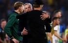 Ancelotti thủ thỉ điều gì khiến Klopp cười tươi dù thua trận?
