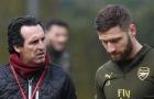'Emery xem tôi như bất kì cầu thủ nào khác của Arsenal'