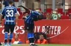 """Lukaku tiếp tục """"nổ súng"""" và đây là phản ứng của Conte"""