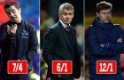 Lò xay Premier League: Solskjaer & Pochettino lọt Top nguy cơ bị trảm