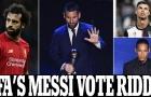 SỐC! HLV & đội trưởng tố không bầu Messi, FIFA gian dối lá phiếu The Best?