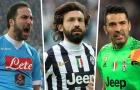 Đội hình xuất sắc nhất Serie A một thập kỷ qua