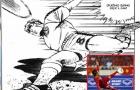 Tuyệt phẩm volley của Quang Hải đẹp như trong truyện tranh Jindo