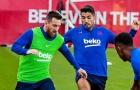 Phản ứng của Messi, Suarez trước việc El Clasico bị hoãn
