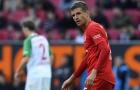 Thủng lưới phút bù giờ, Bayern đánh mất cơ hội lên ngôi đầu bảng
