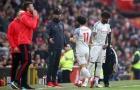 Salah hay 'tàng hình' trước Man Utd, Klopp tuyên bố gắt gỏng