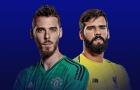 TRỰC TIẾP Man United vs Liverpool: De Gea, Alisson cùng bắt chính (Đội hình ra sân)