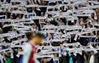 CĐV Leicester tưởng niệm cố chủ tịch Thái Lan và những khoảnh khắc ấn tượng vòng 9 NHA