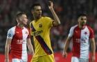 Barca 'hút chết' trước Slavia Praha, Busquets cay đắng thừa nhận 1 điều